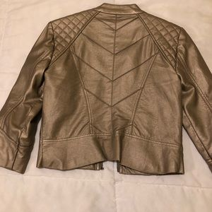 Daytrip Jackets & Coats - Gold/Tan Daytrip Leather Jacket Small